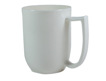 109D Unbreakable mug with large handle Ivory