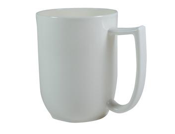 109D Unbreakable mug with large handle Ivory
