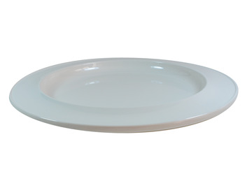 """013D 10"""" Dinner Plate Ivory"""