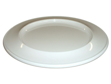 "014D 7"" Side Plate Ivory"