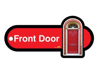 004P Key Fob front door