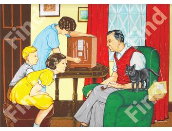 036A Les Ives Family Radio