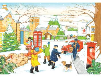 040A Winter Les Ives Four Seasons