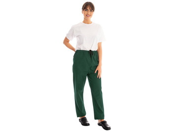 Unisex Scrub Trousers Bottle Green 145gsm