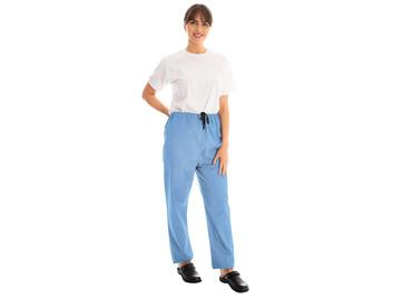 Unisex Scrub Trousers Ceil Blue 145gsm