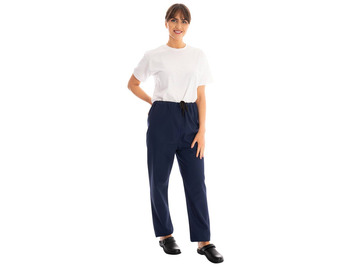 Unisex Scrub Trousers Navy Blue 145gsm
