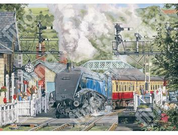 041A Trevor Mitchell Mallard Steam Train
