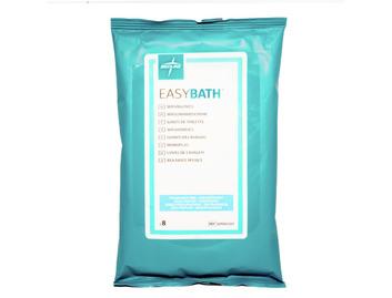 Medline EasyBath Spunlace Wash Gloves Pack Of 8 Fragrance Free (Qty 30 Packs)