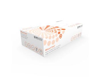 Unigloves: Peach Pearl Nitrile Gloves: Medium