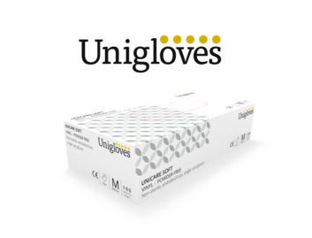 Clear Vinyl Gloves, Case of 1000 (10 x Boxes of 100)