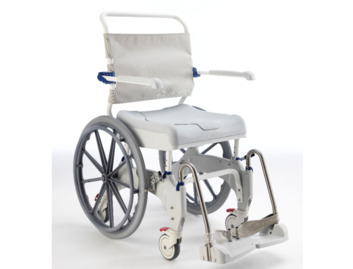 Aquatec Ocean Ergo XL Self Propel Shower Chair and Commode (180kg)