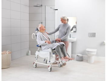 Aquatec Ocean VIP shower chair commode