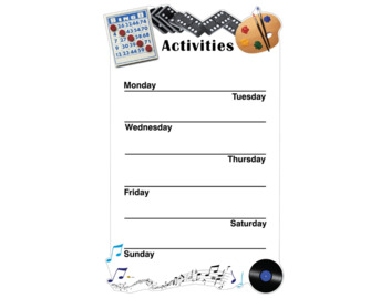 Activity Board Simplified (Weekly)