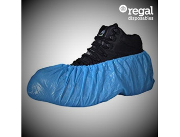 V06 Blue Disposable Shoe Covers
