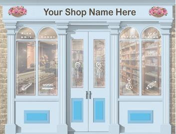 Sweet Shop 3200mm Wide