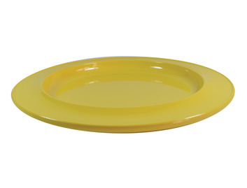 """010D 10"""" Dinner Plate Yellow"""