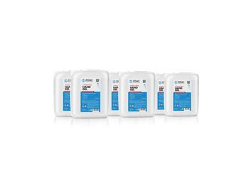 Zidac 70% Antibac Hand Gel 5Ltr Stackable Jerry Can x6