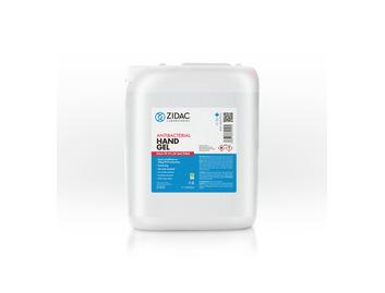 Zidac 70% Antibac Hand Gel 5Ltr Stackable Jerry Can