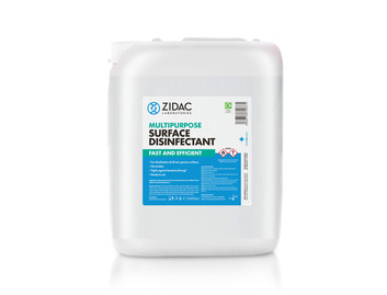 Zidac Multipurpose Surface Disinfectant 5tr Jerry Can