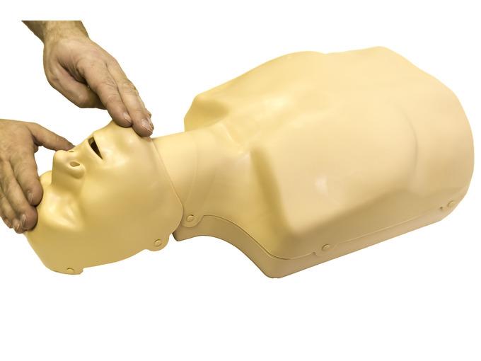 Practi-Man CPR manikin - dual adult and child - no bag