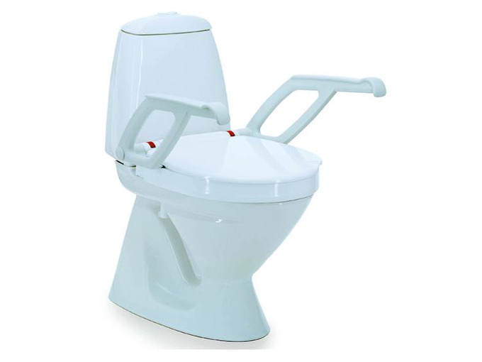 T Aquatec 90000 toilet seat raiser with armrests