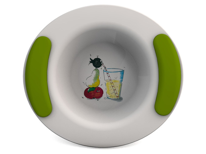 Childrens Decorated Bowl 330ml - Drinking