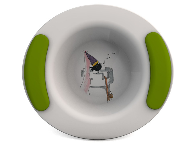 Childrens Decorated Bowl 330ml - Damsel of the Castle