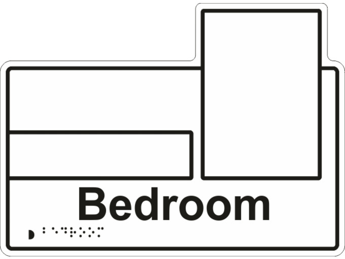 Z-Bedroom Sign Type2