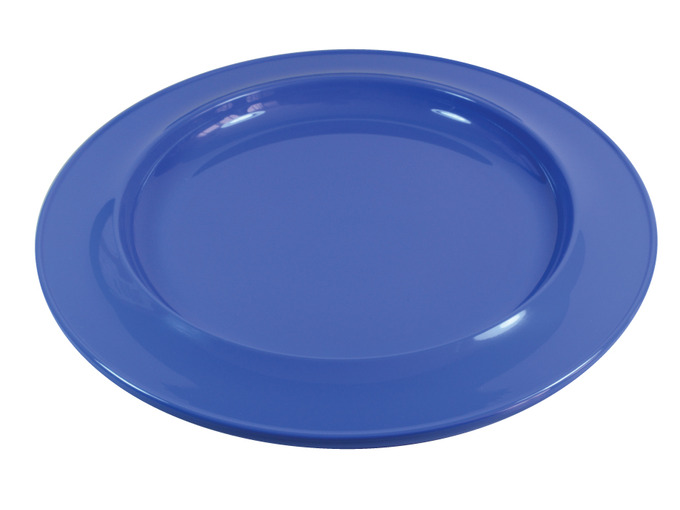 "008D 7"" Side Plate Blue"