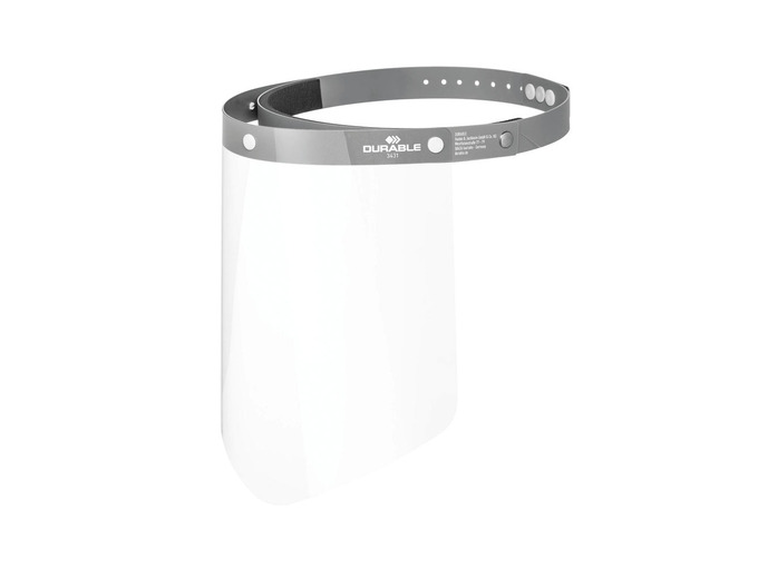 Durable Liftable Face Visor (Pack of 25)