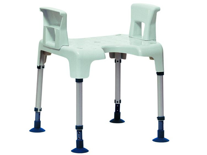 C Pico shower stool with arm rests