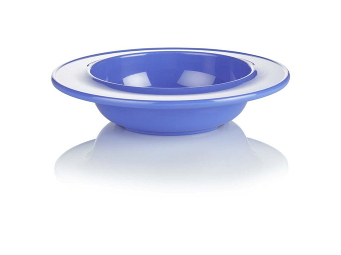 009D Dish/Bowl Blue