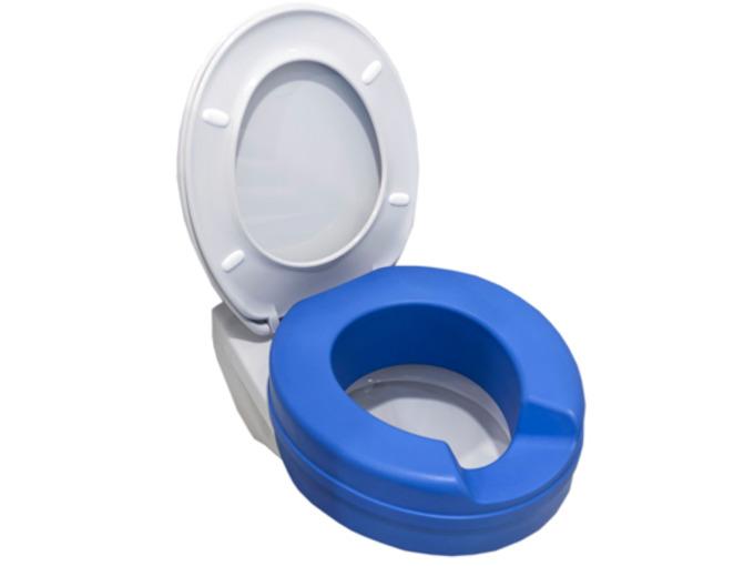 T H304 Finesse Blue toilet seat riser