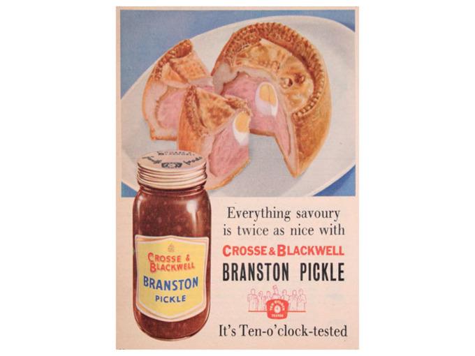 Branston Pickle by Crosse & Blackwell (FO011)