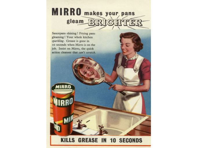 Mirro Pan Cleaner (FO067)