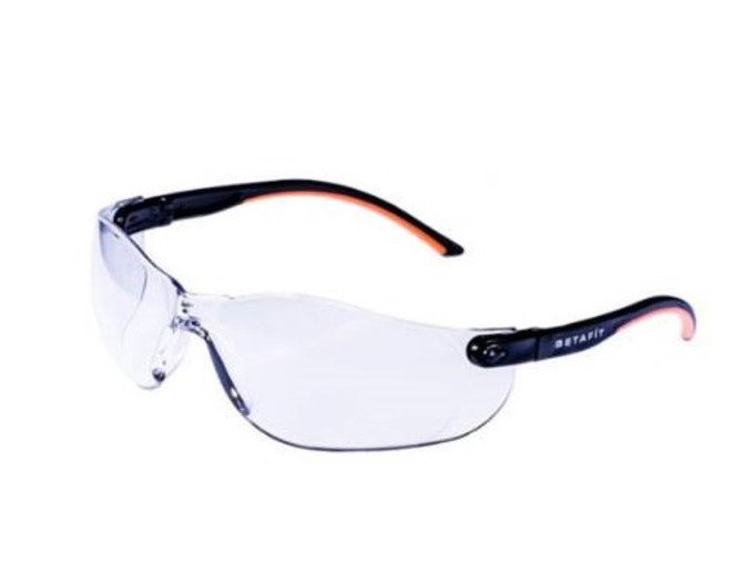Safety Glasses (Montana, Clear Anti-Scratch Safety Eyewear)