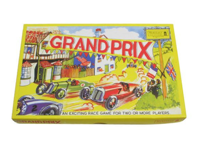 Grand Prix race game