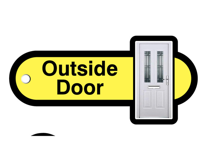 007P Key Fob outside door