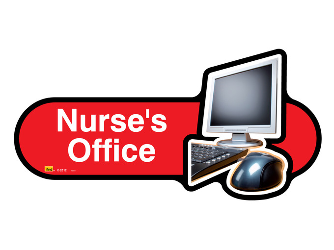 Nurse's Office Sign