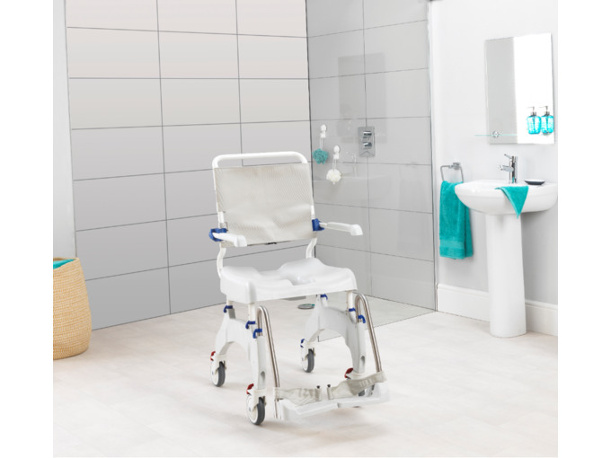 Aquatec Ocean Ergo XL Shower Chair Commode (180kg)