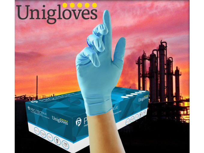 Strong Protect Blue 1000 Gloves