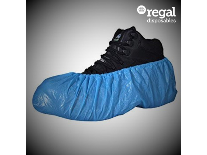 Disposable Shoe Covers Blue Case 2000