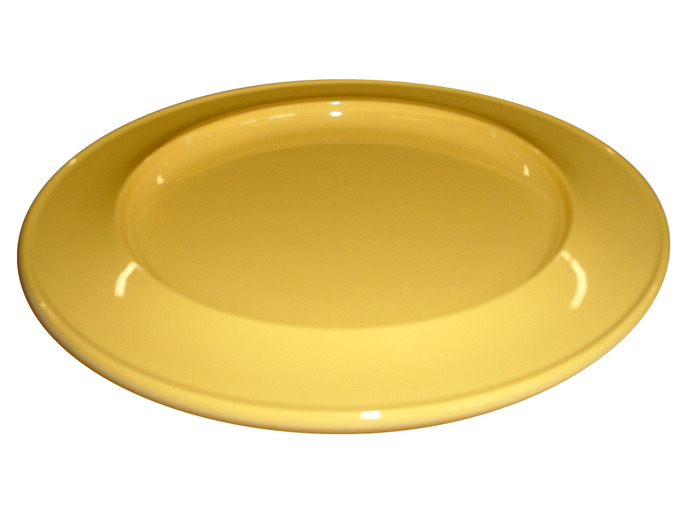"011D 7"" Side Plate Yellow"