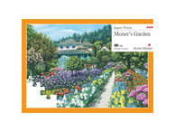 020A 63 Piece Jigsaw Monet's Garden