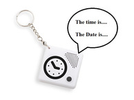 Talking Keychain Alarm Clock