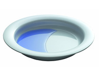 004D Melamine Plate with Sloped Base 26 cm