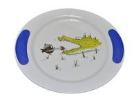 Childrens Dinner 4 Piece Set - Zoo