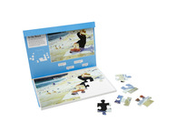 009A 24 Piece Jigsaw At the Beach
