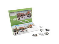 016A 35 Piece Jigsaw Winter snow