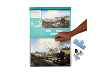 001A 13 Piece Jigsaw Orient Express